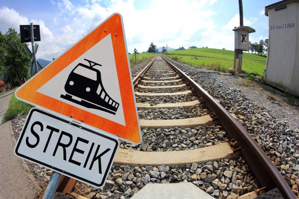 Unpünktlichkeit, zuspätkommen, Streik Zug, Streik Flughafen, Streik öffentliche Verkehrsmittel, Sonderfälle der Unpünktlichkeit