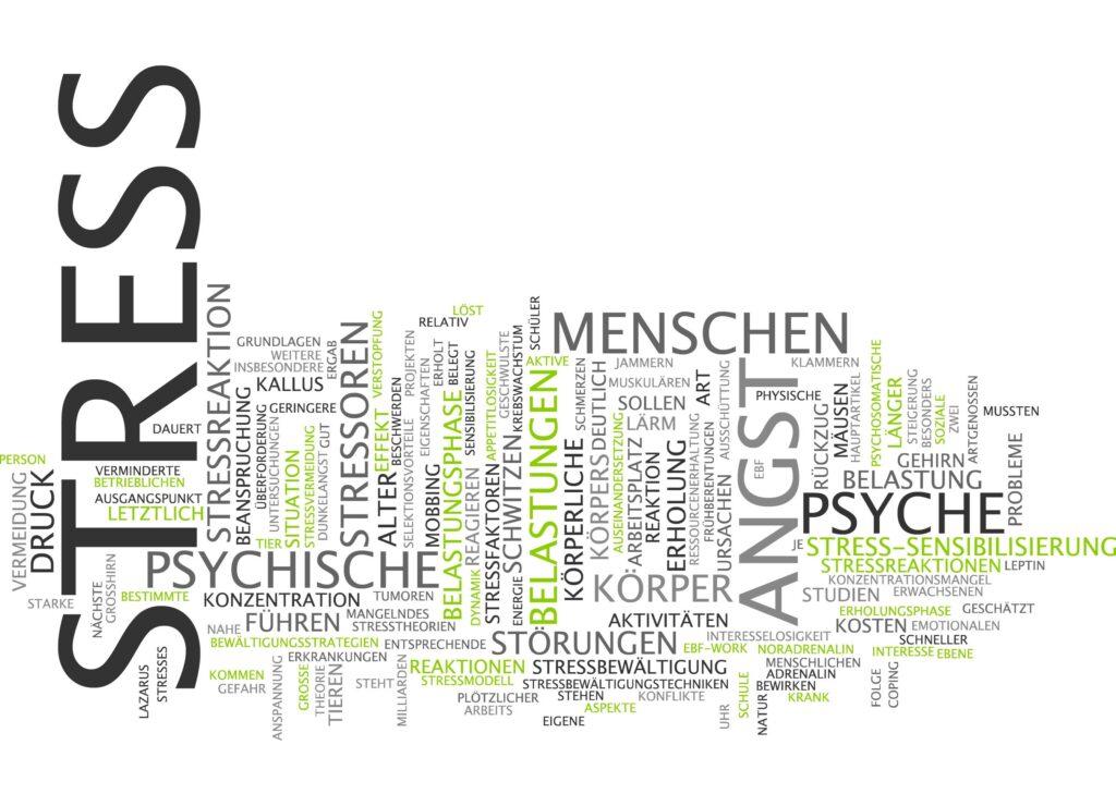 Mobbing, psychischen Erkrankungen am Arbeitsplatz, Burnout, Boreout,