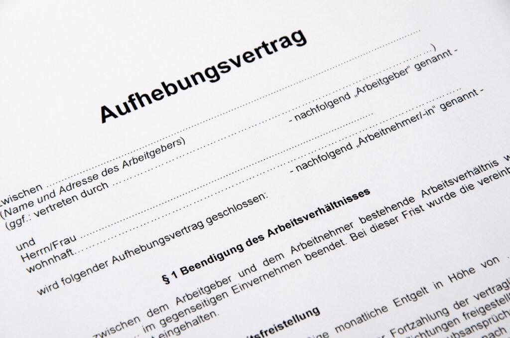 Aufhebungsvertrag, Unternehmen, kündigung, Arbeitgeber, Arbeitnehmer, Arbeitsverhältnis