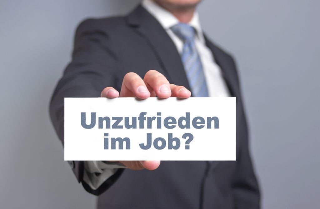innere Kündigung, Arbeitgeber, Jobwechsel, Unzufriedenheit, Arbeitgeber, Unternehmen, Wechsel, Unternehmenswechsel
