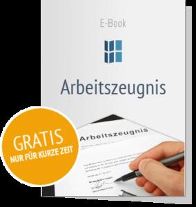 Newsletter abonnieren und e-Book zum Thema Arbeitszeugnis erhalten!
