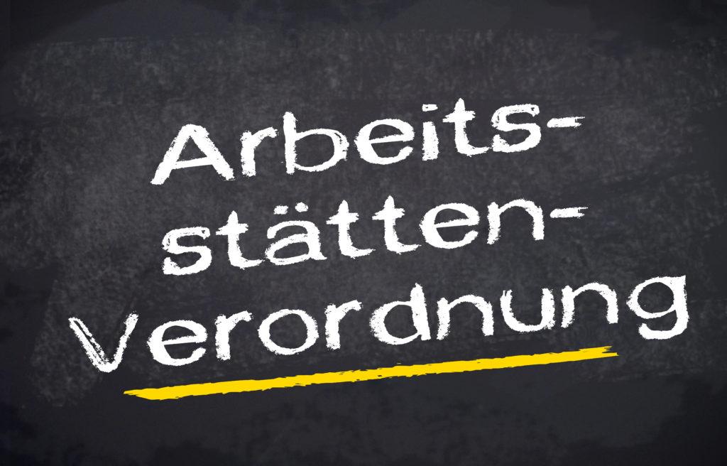 Verordnung, Regelung, ArbStättV