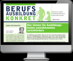 Berufsausbildung konkret online