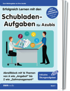 Schubladen-Aufgaben für Azubis - Band 1