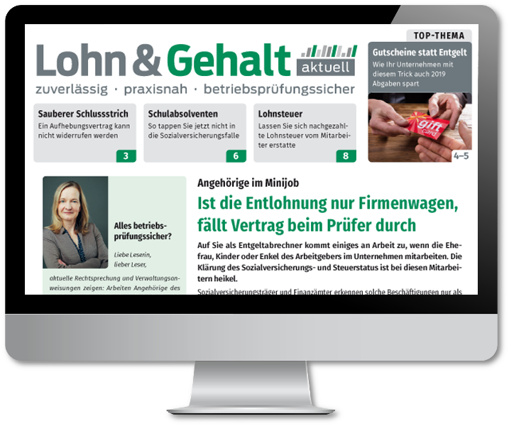 Lohn & Gehalt aktuell online