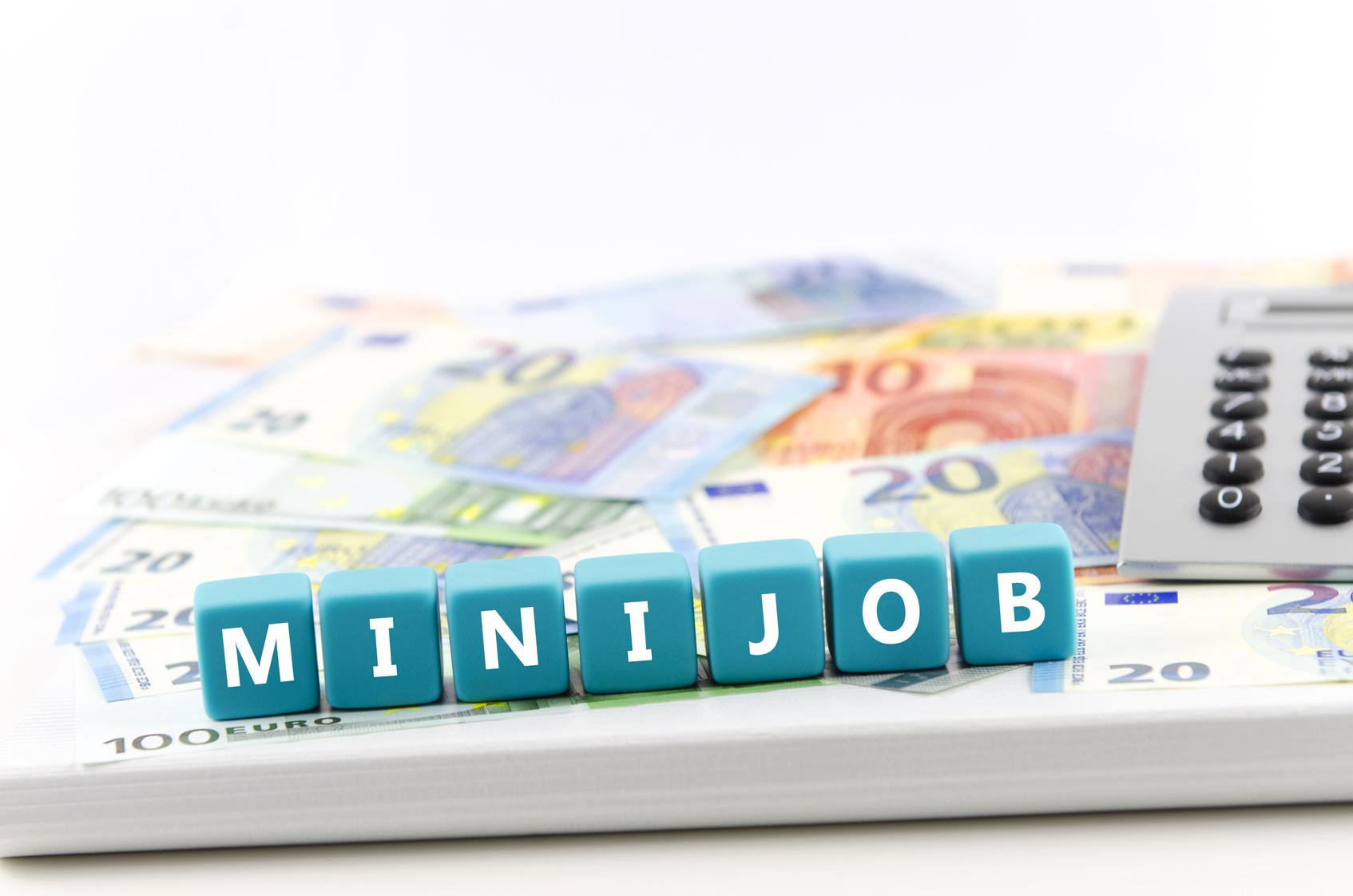 Arbeitsvertrag mit einem Minijobber / geringfügig Beschäftigten