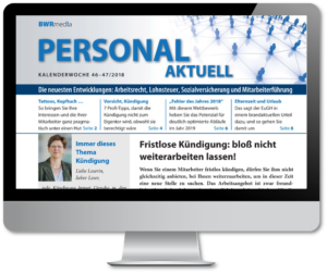 Personal aktuell online