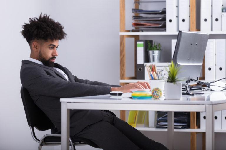 Gesunde Schreibtischarbeit: Gesunder Rücken im Büro