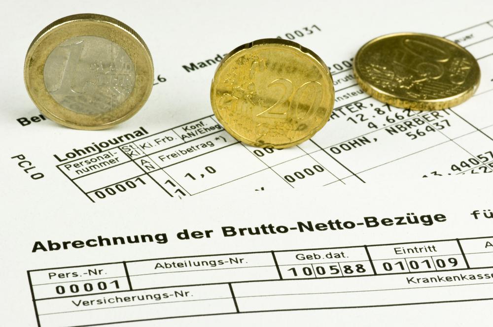 Lohnabrechnung, Gehaltsabrechnung