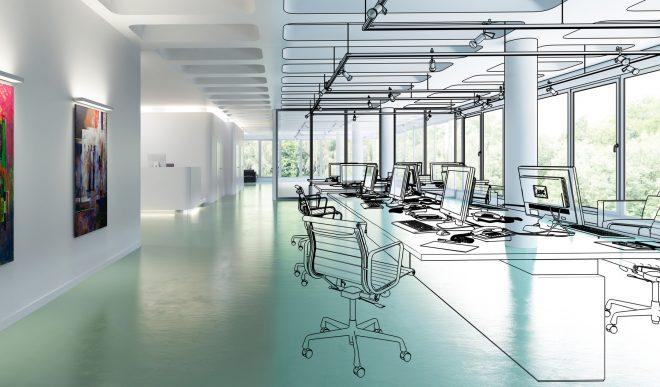 Arbeiten in Großraumbüros: Gemeinschaft als Raumkonzept – auch während Covid-19